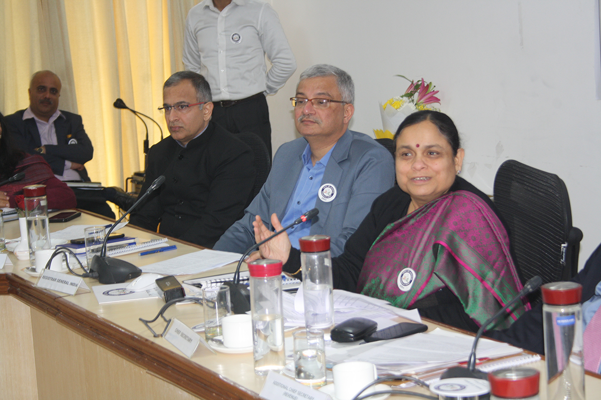 Glimpses of Divisional Commissioners and Principal Census Officers Conference of Haryana State on 14-02-2020.