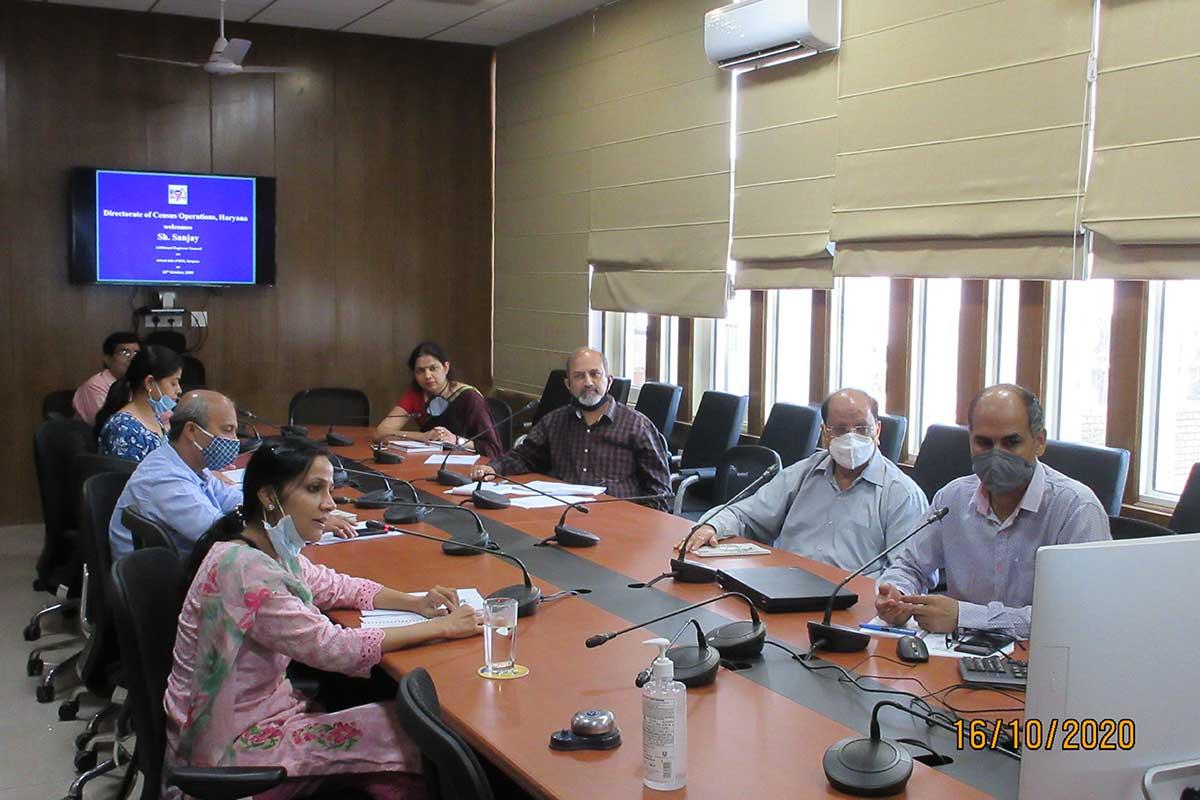 Virtual Visit of Sh. Sanjay, Additional Registrar General