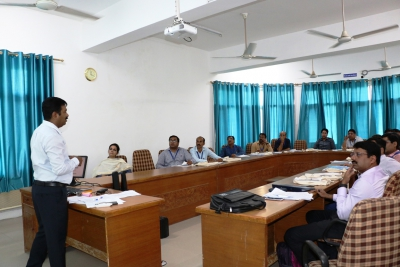 Participants learning during Training session of Master trainers for Census 2021