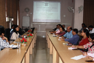 Monthly Rajbhasha workshop being orgnised by Directorate of Census Operations, Haryana